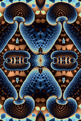 Mushroom Digital Art - Four Mushrooms by Mark Eggleston