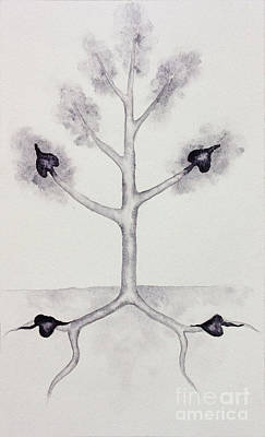 Painting - Four Of Spades by Srishti Wilhelm