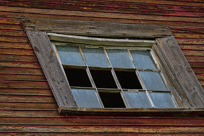 Photograph - Four Panes Gone by Alana Thrower