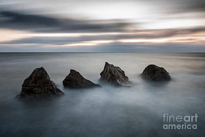 Four Rocks Print by Ray Pritchard