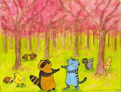 Four Seasons-spring- Original by Maki Kayano