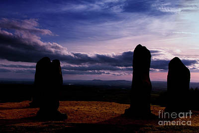 Photograph - Four Stones Clent Hills by Baggieoldboy