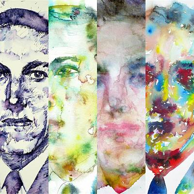 Painting - Four Times Lovecraft by Fabrizio Cassetta