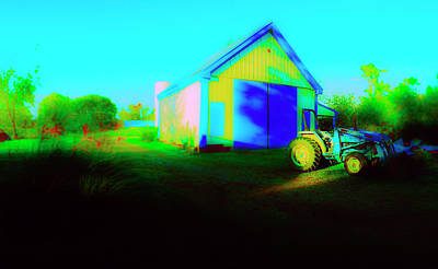 Photograph - Four Wheel Barns by Jan W Faul