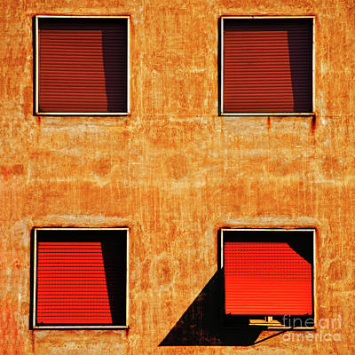 Photograph - Four Windows by Silvia Ganora