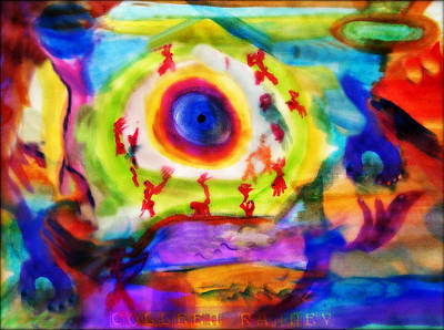 Unity Painting - Four Winds By Colleen Ranney by Colleen Ranney