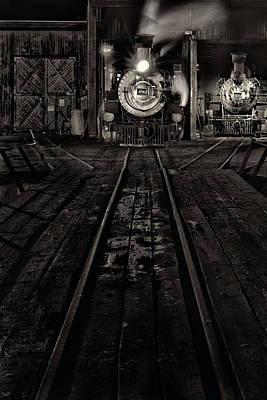 Art Print featuring the photograph Foureightytwo B And W Version by Jeffrey Jensen
