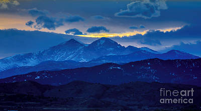 Photograph - Fourteeners by Jon Burch Photography
