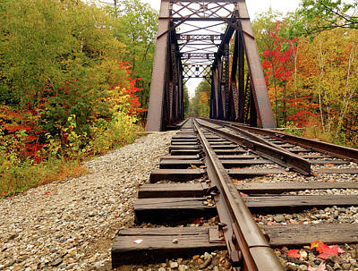 Photograph - Fourth Iron Bridge New Hampshire by Dan Sproul