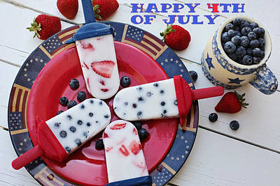 Photograph - Fourth-of-july 716 by Ericamaxine Price