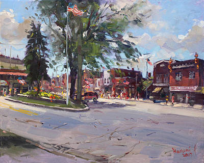 Fourth Of July In North Tonawanda Art Print