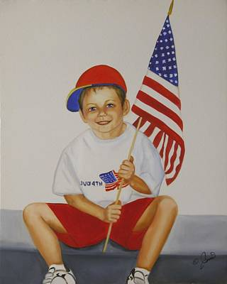 Painting - Fourth Of July by Joni McPherson