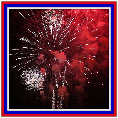 Photograph - Fourth Of July No. One by Paula Tohline Calhoun