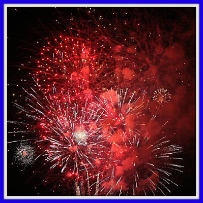 Photograph - Fourth Of July No. Two by Paula Tohline Calhoun