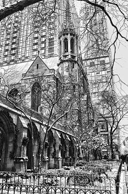 Photograph - Fourth Presbyterian Church-chicago by Donna Sizemore