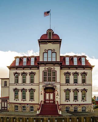 Photograph - Fourth Ward School - 2 Virginia City Nevada by TL Mair