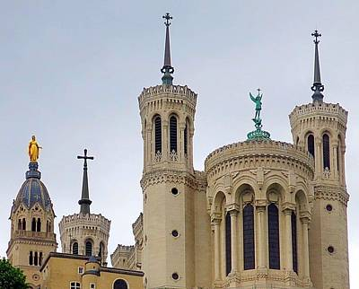 Photograph - Fourviere From Below by Betty Buller Whitehead