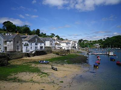 Photograph - Fowey Quay by Richard Brookes