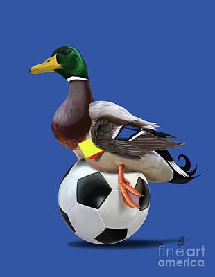 Digital Art - Fowl Colour by Rob Snow
