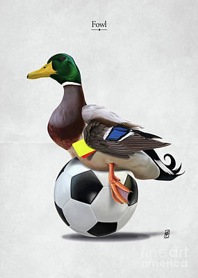 Digital Art - Fowl by Rob Snow