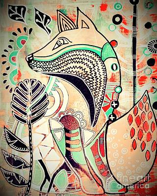 Painting - Fox 2 by Amy Sorrell