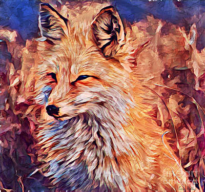 Painting - Fox 2 by Lita Kelley