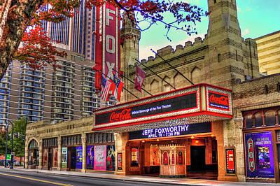 Photograph - The Fabulous Fox Theater 2 Atlanta Georgia Midtown Art by Reid Callaway