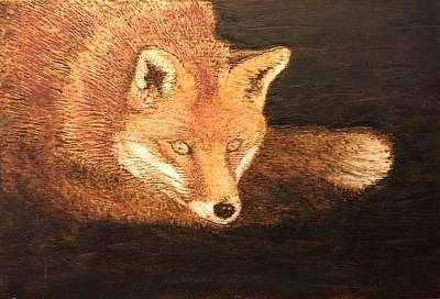 Pyrography Pyrography - Fox by Dominic Abela