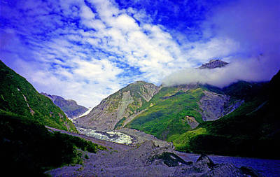 Fox Glacier Photograph - Fox Glacier by Kevin Smith