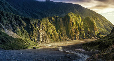 Fox Glacier Photograph - Fox Glacier Valley 2 by Martin Capek