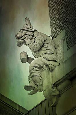 Photograph - Fox Grotesque by Susan McMenamin
