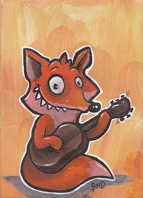 Painting - Fox Jam by Tim Boyd