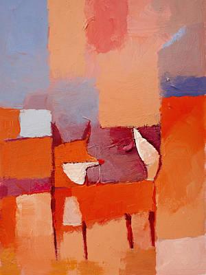Fox Painting - Fox by Lutz Baar