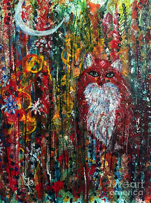 Painting - Fox Magic by Julie Engelhardt