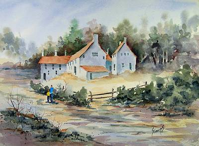 Painting - Fox Point Farm by Sam Sidders