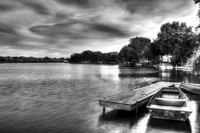 Photograph - Fox River Above Mchenry Dam by Roger Passman
