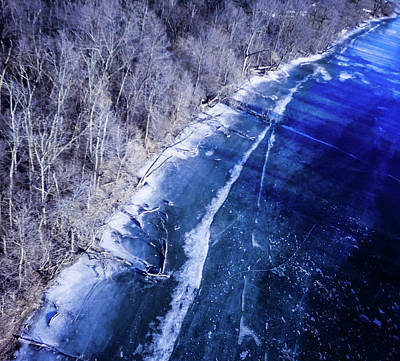Wall Art - Photograph - Fox River Aerial by Giovanni Arroyo