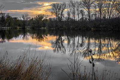Photograph - Fox River Port Barrington Dsc6594 by Raymond Kunst
