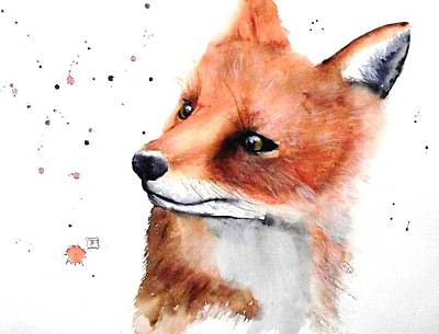 Painting - Fox by Ruth Trinczek