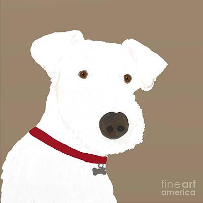 Fox Terrier Digital Art - Fox Terrier by Priscilla Wolfe