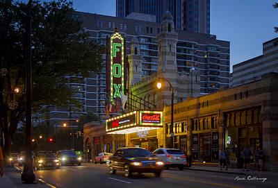 Photograph - Fox Theater Atlanta Fabulous Fox Art  by Reid Callaway