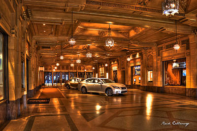 Photograph - Fox Theater Lobby Atlanta Georgia by Reid Callaway