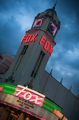 Photograph - Fox Theater Merle Haggard Tribute by Connie Cooper-Edwards
