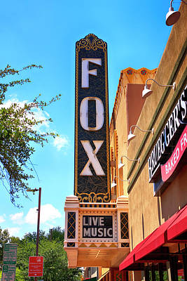 Photograph - Fox Theater, Tucson by Chris Smith