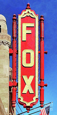 Photograph - Fox Theatre Atlanta Georgia 20180501 by Wingsdomain Art and Photography