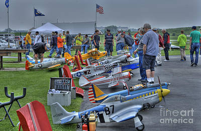 Photograph - Fox Valley Aero Club Flightline by David Bearden