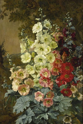 Painting - Foxgloves by Augusta Dohlmann