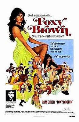 Digital Art - Foxy Brown Movie Poster by ReInVintaged