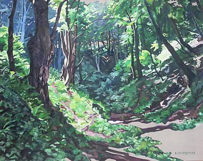 Painting - Foxy Canyon Summer by Nel Kwiatkowska