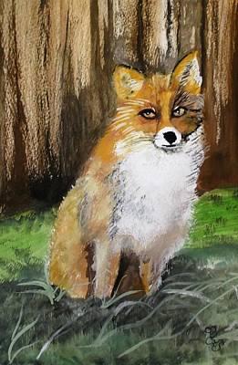 Painting - Foxy Lady by Carole Robins